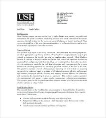 Resume For Fast Food Cashier Sample Resume Cashier Fast Food Restaurant Examples Head Free