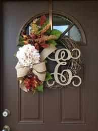 initial wreaths for front doorBest 25 Letter door wreaths ideas on Pinterest  Initial door