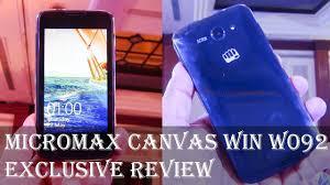 Micromax Canvas Win W092 Full phone ...