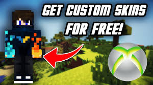 FREE CUSTOM SKINS On Minecraft Xbox One ...