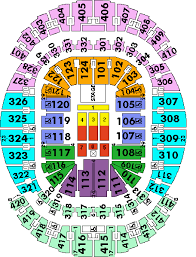 American Airlines Arena Seating Chart Justin Bieber
