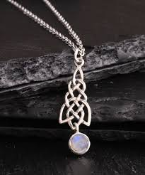 love this product moonstone sterling silver celtic knot pendant necklace
