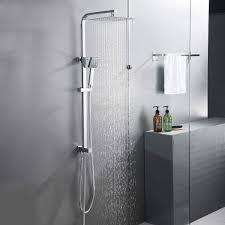 Bonade 304 Edelstahl Duschset Regendusche Duschsystem 25
