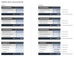 Excel Roi Template Free Roi Templates And Calculators Smartsheet