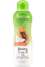 Papaya & Coconut <b>Pet</b> Shampoo & Conditioner - TropiClean <b>Pet</b> ...