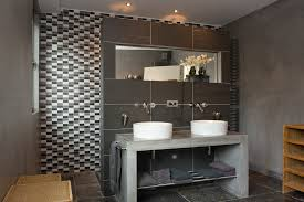 concrete sink s support is a brutal touch you can add to a contemporary bathroom btw