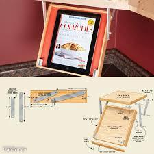 organize kitchen office tos. Drop-Down Tablet Tray Organize Kitchen Office Tos