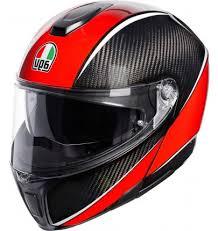 Agv Sportmodular Aero Carbon Red 003