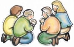 Image result for a group praying