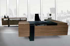 modern wood office desk. stylish contemporary executive office furniture modern wood desk