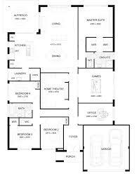 australian house plans floor plans