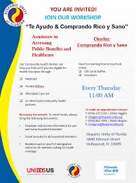 Health And Public Benefits Hispanic Unity Of Florida
