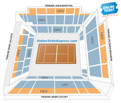 Philippe Chatrier Seating Chart Buy French Open Roland Garros 1st Round Philippe