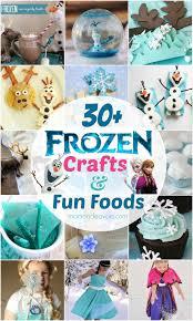 30 disney frozen crafts fun foods