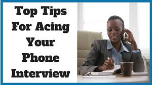 Tips For Acing A Job Interview Top Tips For Acing Your Phone Interview Noomii Career Blog