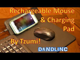 Tzumi <b>Wireless Charging</b> Pad and <b>Rechargeable</b> Wireless Mouse ...