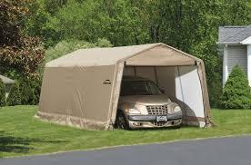 Enclosed Carport Tent