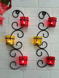 glass cup candle holders