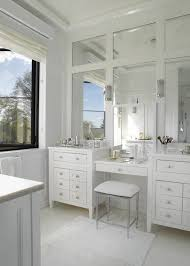 brilliant double vanity make up vanity design paneled mirrors master throughout double sink vanity with makeup table