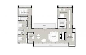 appealing u shaped floor plans with pool ranch house perfect design