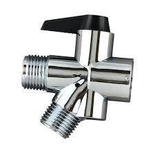 nova shower valve a silver with black switch to change water bathtub diverter kohler spout shower spout bathtub diverter