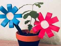Kleine Einfache Blumen Basteln Mit Kindern Der