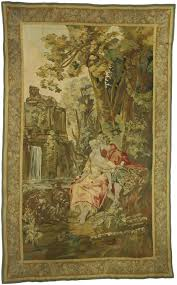 French Rococo Artist And Tapestry Designer Antique French Rococo Tapestry Inspired By Francois Boucher The Agreeable Lesson