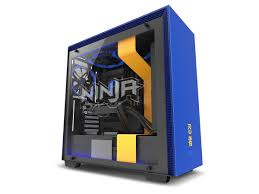 ninja houses all his gaming parts in the 200 h700i by nzxt he uses both the matte white model as well as the 250 ninja branded model of the h700i in