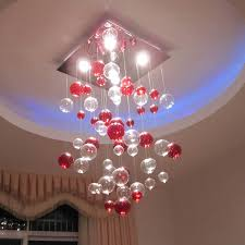 breathtaking popular mercury red and clear small balls hanging modern ceiling lights added blue rounded false breathtaking modern kitchen lighting options
