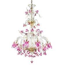 chandelier flowers 8 lights pink flowers tall glass chandelier antique chandelier porcelain flowers