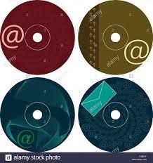 Cd Dvd Label Design Template Vector Art Stock Vector Art