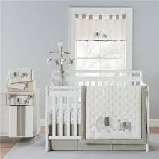 piece elephant crib bedding set