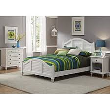 mahogany bedroom furniture. bermuda queen bed, night stand, and chest brushed white finish by home styles mahogany bedroom furniture