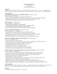 Resume Samples Office Manager Example Ideas Sample For Administr