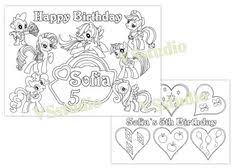 Small Picture My Little Pony Free Printable Coloring Pages Activity sheets