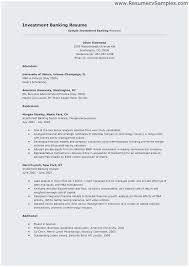 Entry Level Banking Resumes Sample Resume For Investment Banking Analyst Terrific Entry Level