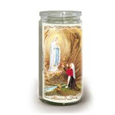 offering candle 5 ol lourdes 2 days