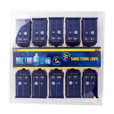 Bbc Doctor Who Tardis String Lights Tardis Lights Doctor