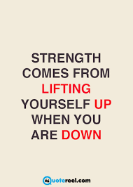 Quotes Of Strength Custom 48 Quotes About Strength Text Image Quotes QuoteReel