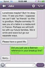 Funny Break Up Quotes Simple 48 Unbelievable BreakUp Texts SMOSH