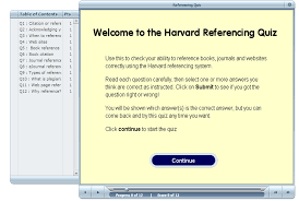 Harvard Referencing Quiz Uwe Study Skills Harvard Referencing