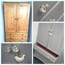 ... Furniture Dark Pine Bedroom Furniture Pine Wardrobe Restyled Using  Chalk Paint Blended To Our Own Shade Of White Painted Bedroom Furniture  With Oak Tops