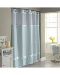stall fabric shower curtain. hookless escape 54\ stall fabric shower curtain t