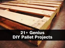 Diy Pallet Projects 21 Genius Diy Pallet Projects