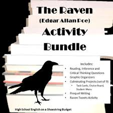 the raven activity bundle edgar allan poe pdf by msdickson tpt the raven activity bundle edgar allan poe pdf