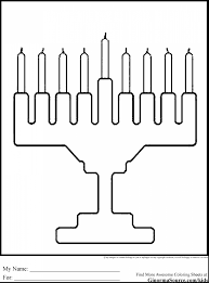 Small Picture incredible chanukah menorah coloring pages with hanukkah coloring