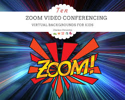 This post may contain affiliate ads at no cost to you. Zoom Virtual Backgrounds For Kids Charlene Chronicles