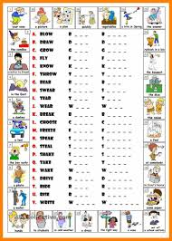 List Of Action Verbs Excellent Resume Power Verb List Images Example