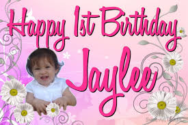 1st birthday banner first birthday banners ieusof banners