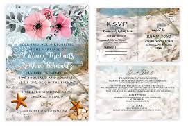 Beach Invitation Beach Wedding Invitation Sand Ocean Bridal Shower Starfish